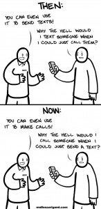 call-text-then-now